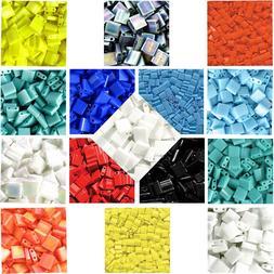 Miyuki Tila Seed Beads 5mm x 1 mm Opaque Beads Approx. 7.2 G