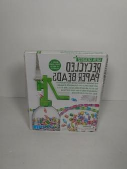 New Toysmith 4M Recycled Paper Bead Kit Environment Friendly