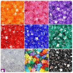 BeadTin Transparent 13mm Star Pony Beads  - Color choice