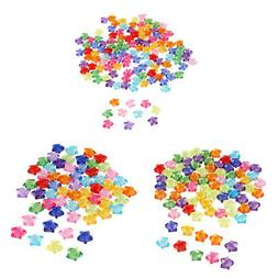 Transparent Star Acrylic Loose Beads for Jewelry Making DIY