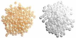 Trimits Extra Value Round Pearl Beads, 2.5mm, pack of 2000