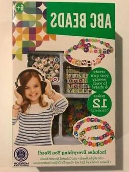 Children's Jewelry Making Kit ABC Colorful Beads 375pc Mak