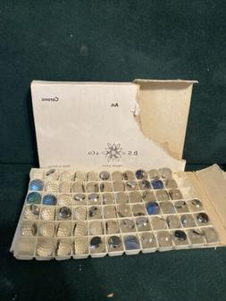 vintage Swarovski® Crystal CORONA stones open Factory Pack