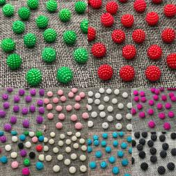 Wholesale 10mm 12mm Round Pearl Plastic Beads Lot Jewelry Ma