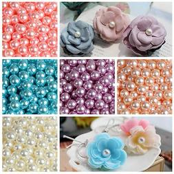 Wholesale 2mm-14mm  No Hole ABS Pearl Round Acrylic Beads 16
