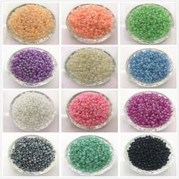Wholesale 2mm 3mm 4mm Glass Pearl Spacer Loose Beads Jewelry