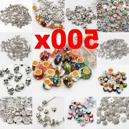 Wholesale 500Pcs Tibet Silver Beads Spacer For Jewelry Makin