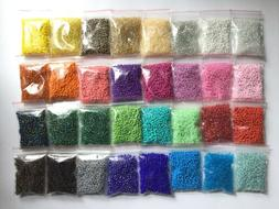Wholesale Bulk Giant Lot 800g Size 8/0 Glass Seed Beads 32 A