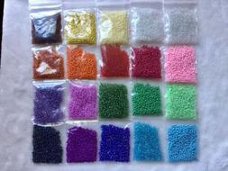Wholesale Bulk Lot 200g 11/0 Glass Seed Beads Free Ship 20 A