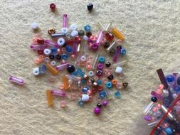 Wholesale Lot Mixed 11/0 8/0 6/0 Glass Seed & Tube Beads 100