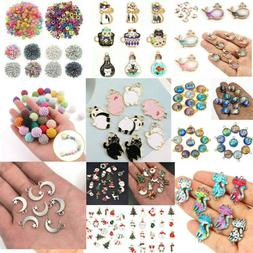 Wholesale Metal Mixed Charm Bulk Pendant DIY Jewelry Making