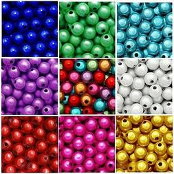 WHOLESALE MIRACLE BEADS 4MM 6MM 8MM ROUND RED BLUE GREEN PUR