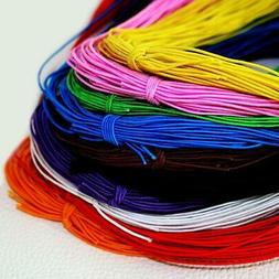 Wholesale Round 1mm Elastic Stretch Cord DIY Beading String