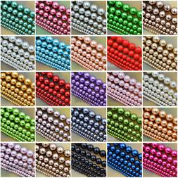 Wholesale Top Quality Czech Glass Pearl Round Beads 16'' 3mm