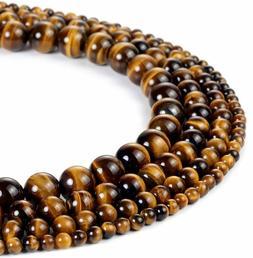 Yellow Tiger Eye AAA Gemstone Loose Beads Natural Round 6mm